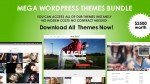 MEGA WORDPRESS THEMES BUNDLE