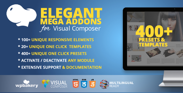 Elegant Mega Addons for WPBakery Page Builder
