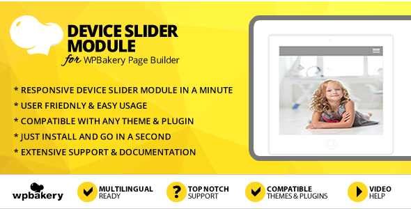 Elegant Mega Addons Device Slider Module for WPBakery Page Builder