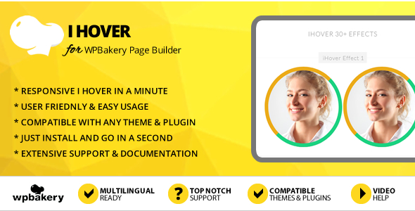 Elegant Mega Addons iHover Effects for WPBakery Page Builder