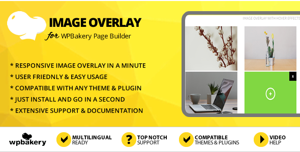 Elegant Mega Addons Image Overlay With Hover Effects for WPBakery Page Builder