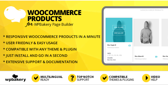 Elegant Mega Addons WooCommerce Products for WPBakery Page Builder
